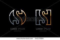 stock-vector-letter-s-logo-alphabet-logotype-vector-design-242172004.jpg (450×302)