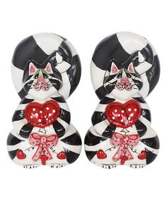 Another great find on #zulily! Clancey Hearts Salt & Pepper Shakers #zulilyfinds
