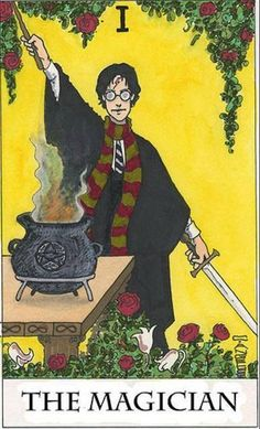 Dont'cha just wish this was a real Tarot Card.