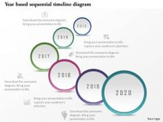 D Timeline Infographics With Multiple Icons Powerpoint