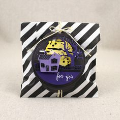 Haunted Manor Treat Bag by Lizzie Jones for Papertrey Ink (August 2015)