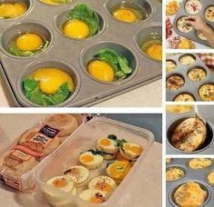 Des muffins anglais aux œufs! J'en salive! Comme les McMuffins!On les mange plus souvent dans les restaurants à service rapide, pourtant ils sont plus que facile à faire, et vous pourrez les garnir à votre guise! Vous avez reçu pour le réveillon et