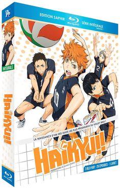 Haikyu!! - Intégrale Saison 1 - Edition Saphir  3 Blu-ray  + Livr - BLU-RAY NEUF