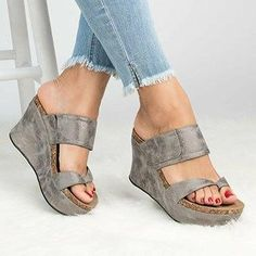 8314ad913f5 Sandalias Mujer Women Sandals 2018 Fashion Open Toe Platform Sandals Wedges  Heels Shoes Woman Gladiator Summer Leather Sandals