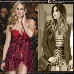 Coleção Fashion #dechelles #lingerie #streetstyle #fashion #animalprint vendas@dechelles.com.br