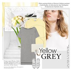 """""""Her touch was so soft and pure i could almost see flowers grow on my skin"""" by aane1aa ❤ liked on Polyvore featuring Pier 1 Imports, Acne Studios, T By Alexander Wang, Nine West, Eva Solo, Alexander Wang and yellowandgray"""