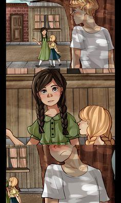 Peeta, Katniss and Prim by ~Nani-Mi on deviantART