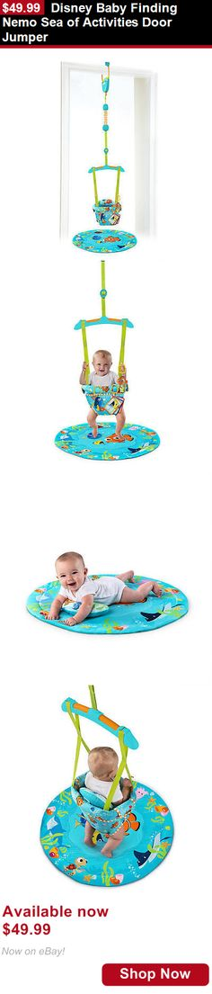 Baby jumping exercisers: Disney Baby Finding Nemo Sea Of Activities Door Jumper BUY IT NOW ONLY: $49.99