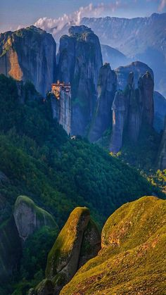 In Meteora, Greece. Landscape Photography, Nature Photography, Travel Photography, Places To Travel, Places To See, Paradise Pictures, Amazing, Greece Travel, European Travel