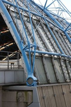 High Speed 1 (City of London/Stratford, Truss Structure, Steel Structure Buildings, Hopkins Architects, Civil Engineering Construction, Waterloo Station, Steel Trusses, Steel Detail, Space Frame, Geodesic Dome