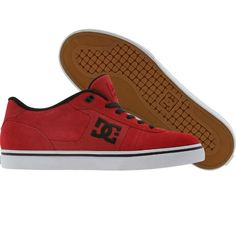 Red DC Match WC S shoes