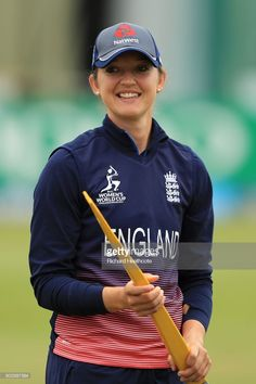 Sarah Taylor of England looks on before the Women's ICC World Cup group match between England and Pakistan at Grace Road on June 27, 2017 in Leicester, England.