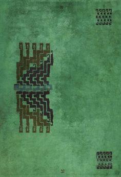 Ivan Da Silva Bruhns; Hand-Knotted Wool Rug, 1930s. Textile Patterns, Textiles, Textile Design, Tiger Rug, Art Deco Rugs, Dining Room Colors, Persian Motifs, Art Nouveau, Textile Fiber Art