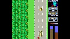 Road Fighter es un videojuego de carreras y la primera entrega de la serie del mismo nombre producido por Konami y lanzado en los arcades en 1984. Fue el primer juego de carreras desarrollado por esta compañía. El objetivo es alcanzar la meta sin chocar los coches que aparecen ni quedarse sin gasolina. Konami, Classic Video Games, 1984, Goal, Race Games, Reaching Goals, Cars