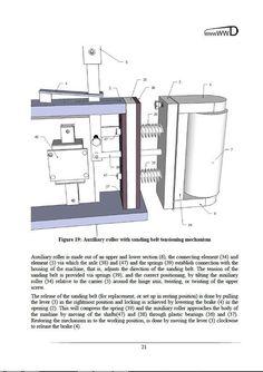 Oscillating Edge/Spindle Sander  Digital PDF Plan