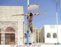 """""""Where's the outrage? This is the Muslim Brotherhood that the Obama Administration stood behind and supported?"""" In Egypt, this man was crucified because he converted from Islam to Christianity as a result of the Muslim Brotherhood and Sharia Law. by natalie-w"""