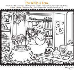 Can your students find all the hidden Halloween objects Click the