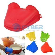 Free shipping New Cute Animal Pattern Heatproof Kitchen Tools Silicone Pot Holder Oven Mitts Gloves-in Oven Mitts from Home  Garden on Aliexpress.com $2.85