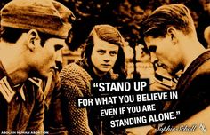 Sophie Scholl quote Hans Scholl, National History Day, Quotes To Live By, Life Quotes, German Soldiers Ww2, Right To Choose, The Book Thief, Political Quotes, Quotes