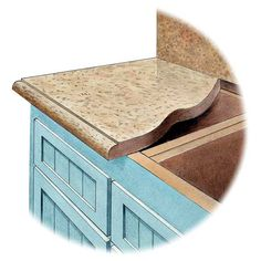 For a good-looking, long-lasting stone countertop, follow these rules of thumb. | Illustration: Rodica Prato | thisoldhouse.com