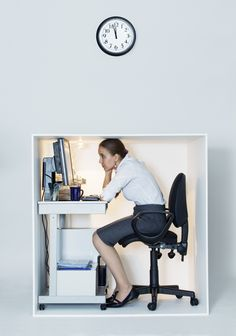 Computer mishaps and unappreciative bosses are among Brits' top aggravations at work Tiny Office, Corporate Interiors, Desk, Cool Stuff, Storage, Inspiration, Furniture, Office Cubicle, Home Decor