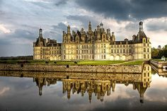 Royal Château de Chambord constructed by King François I in part to be near to his mistress the Comtesse de Thoury.