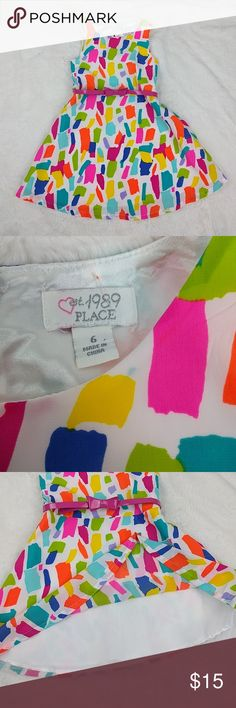 I just added this listing on Poshmark: The Children's Place Girl Multicolor Dress flare. #shopmycloset #poshmark #fashion #shopping #style #forsale #The Children's Place #Other