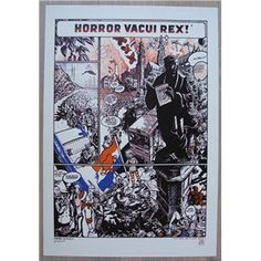 Peter Pontiac # HORROR VACUI REX! # signed , numbered 108/250, mint
