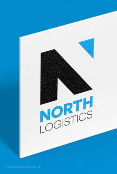 Logo design and branding for North Logistics. Hire me for your logo or branding work at Miri GFX N Logo Design, Graphic Design Studios, Freelance Graphic Design, Logo Design Services, Branding Design, Logo Branding, Brand Identity, Logos, Apollo Logo
