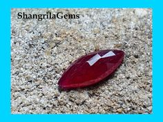 Ruby Marquise shape Mozambique heat only by by Buy Gemstones, Chakra Stones, Crystal Beads, Crystals, Healing Stones, 2 In, Shapes, Geology, Carving