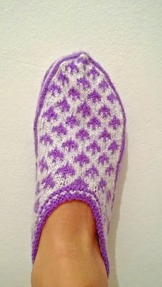 Hand knitted home slippers  Women slippers  by CoruhHandicraft, $26.00