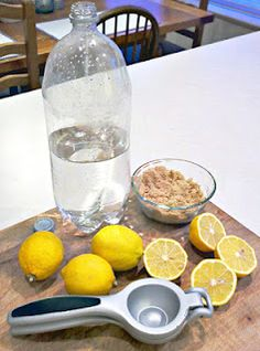 Make Your Own Citrus Enzyme Cleaner