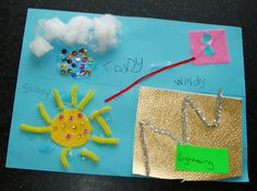 Weather craft -  love that it's made by kids