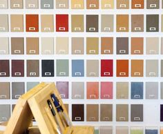 Our palette of 300 colours an edited selection of colours chosen by architects and décor industry professionals.