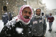 Marzo 2012. Neve in Palestina.