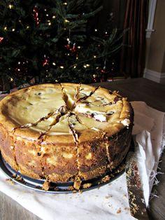 Bailey's Chocolate Chip Cheesecake {Katie at the Kitchen Door}