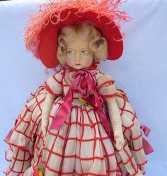 "Vintage 1930's 19"" Felt Lenci Girl Doll All Original with Tag Series 300 EXC | eBay"