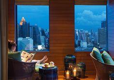 Nap Room at the Six Senses Spa at Pacific City Club Bangkok