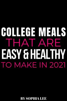 okay these healthy college meals are so good!! ive sent this to my roommates too and we've been trying all of them. so good! Pink Dorm Rooms, Boho Dorm Room, Cute Dorm Rooms, College Dorm Rooms, First Apartment Checklist, First Apartment Essentials, Dorm Essentials, Apartment Ideas, College Meals