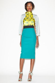 L'Wren Scott Resort 2013 Collection | Tom & Lorenzo    This is perhaps the prettiest, brightest thing in the collection and I WANT IT!
