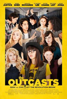 Le reiette - The Outcasts The Outskirts USA: 2015 Genere: Commedia Durata: Regia: Peter Hutchings Con: Eden Sher, Victoria Justice, Peyton List, Teen Movies, 2015 Movies, Comedy Movies, Good Movies, Movie Tv, Movies Free, Iconic Movies, Indie Movies, Popular Movies
