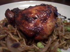 Soy Balsamic Chicken Thighs Recipe - Food.com