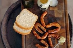 Carnaciori din carne de pui Sausage, French Toast, Bacon, Chicken, Breakfast, Food, Red Peppers, Morning Coffee, Eten