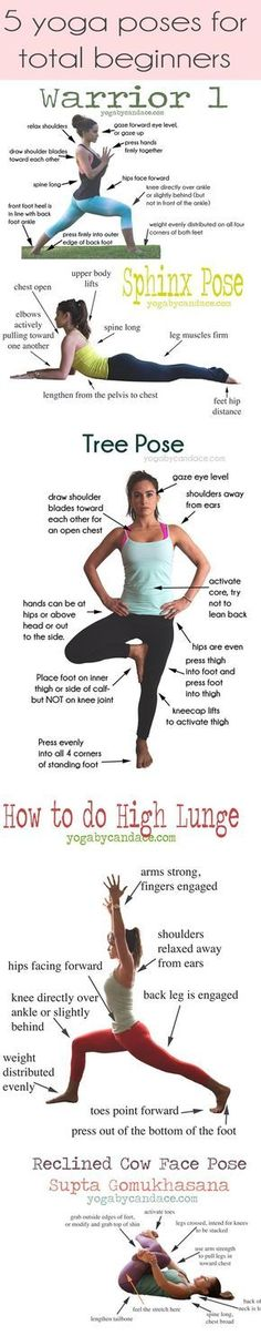 Pin now, practice later! 5 Yoga poses for beginners. Plus, come chat on the forum! http://www.forum.yogabycandace.com