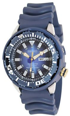 36f4168174d Seiko 2013 Monster Automatic Dive Watch Limited Edition SRP453 Seiko  Monster