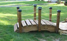 3 foot miniature garden bridge