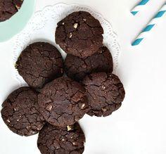 Mint Mocha Cookies