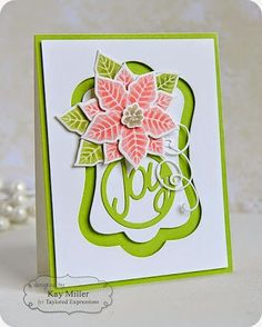 Happy, joyful Thursday, crafty friends! Today, Blog Team designer, Kay Miller joins us with some...