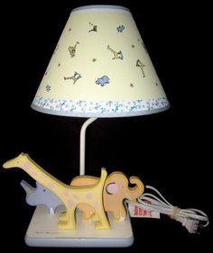638b567ee6db Carter's John Lennon Real Love Imagine Baby Nursery Lamp Safari Zoo Yoko  Ono | eBay