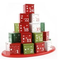 Wooden Advent Calendar Boxes Unfinished Category Page